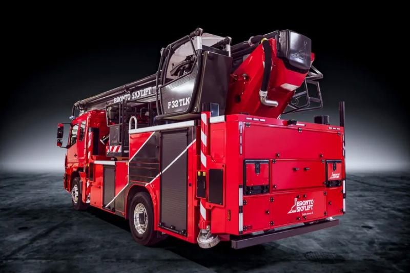 Tűzoltójárművek, emelőkosarak