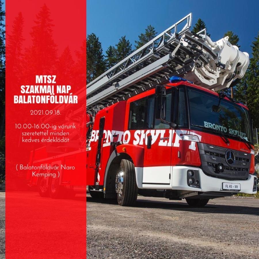 Bronto Skylift, tűzoltójárművek, emelőkosarak